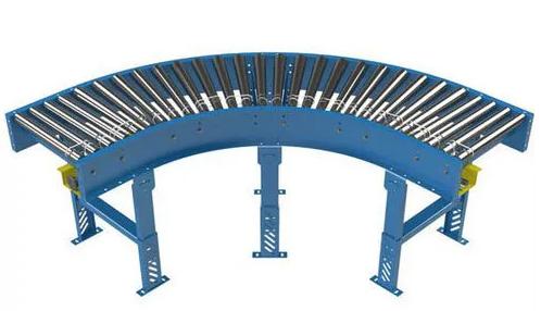 90 Degree Curved conveyor