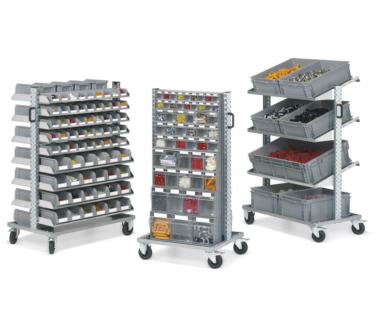 assemble trolleys